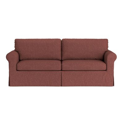 Greenside Replacement Sofa Slipcover Upholstery: Red Tapestry, Skirted: Yes