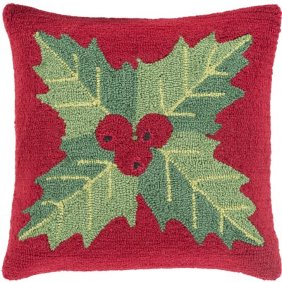 Christmas Mistletoe Throw Pillow