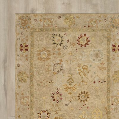 Ashville Hand-Tufted Taupe / Beige Area Rug