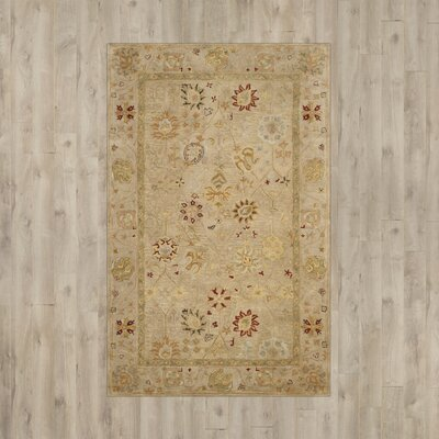 Ashville Hand-Tufted Taupe / Beige Area Rug Rug Size: Runner 23 x 10