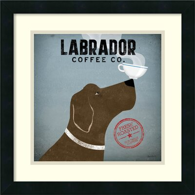 Labrador Coffee Co. Framed Graphic Art