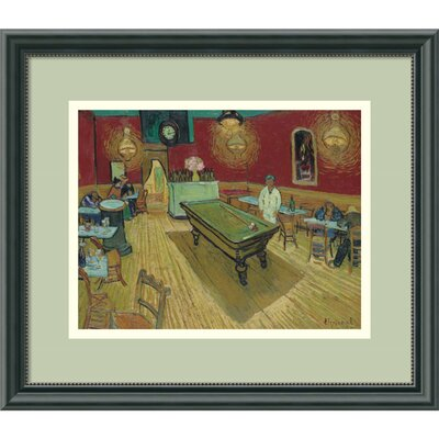 'Night Cafe, 1888' by Vincent van Gogh Framed Painting Print