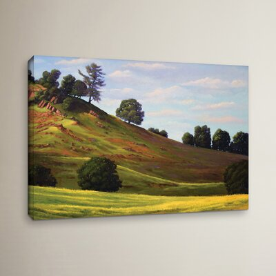 Spring Day Painting Print on Wrapped Canvas