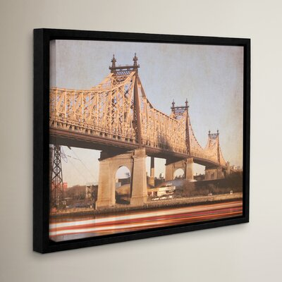 Queens Borough Bridge Framed Photographic Print