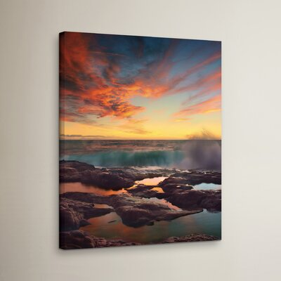 The Colors Kingdom Photographic Print on Wrapped Canvas Size: 18