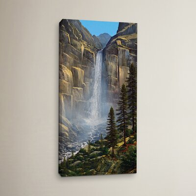 Great Falls Painting Print on Wrapped Canvas