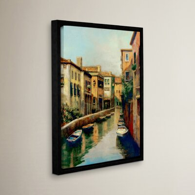 Waterways At Dawn Framed Painting Print