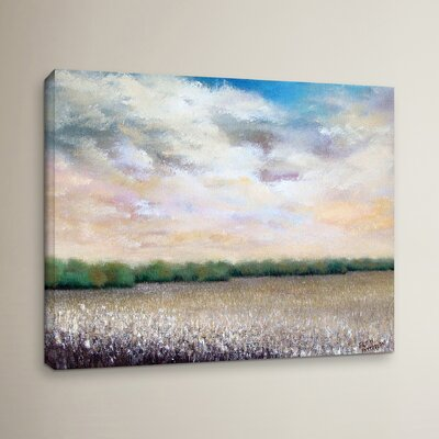 Prairie State Painting Print on Wrapped Canvas