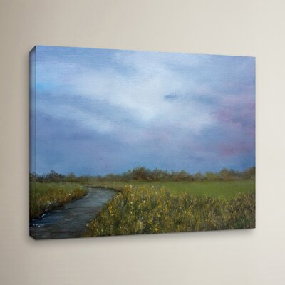 Quiet Path Painting Print on Wrapped Canvas
