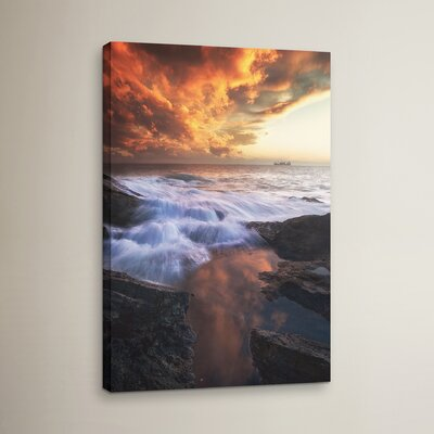 Water and Fire Photographic Print on Wrapped Canvas