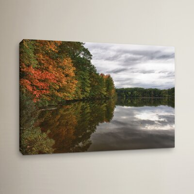 Fall in Ohio Photographic Print on Wrapped Canvas Size: 12
