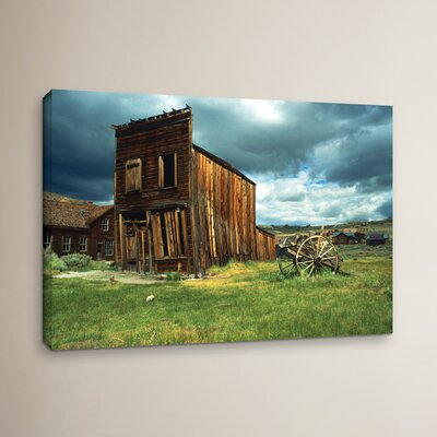 Wild West Bodie Photographic Print on Wrapped Canvas