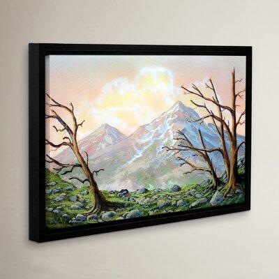 Windblown Framed Painting Print
