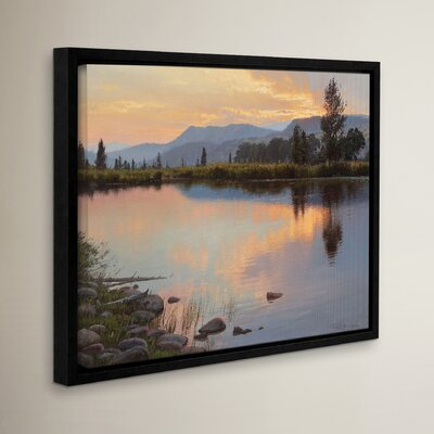 Tranquil Evening Framed Photographic Print