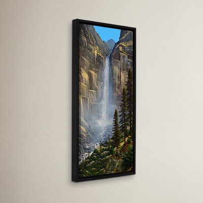 Great Falls Framed Painting Print
