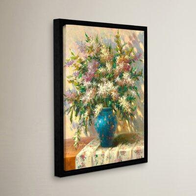 'Elegant Floral II' Painting Print Size: 18