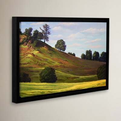 Spring Day Framed Painting Print