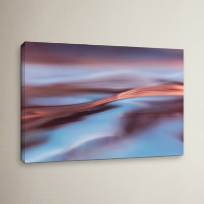 Wavescape 2 Graphic Art on Wrapped Canvas