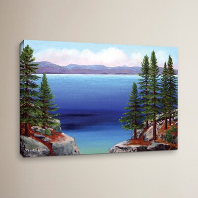 Tahoe Dreams Painting Print on Wrapped Canvas Size: 12