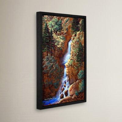 Spring Cascade Framed Painting Print