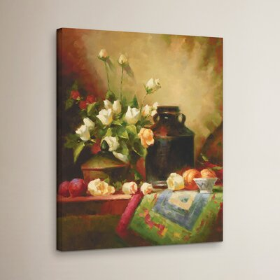 Still Life Of Warmth Print on Wrapped Canvas