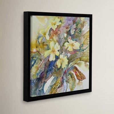 Primroses 2012 Framed Painting Print