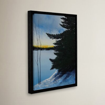 Winter Glow Framed Painting Print