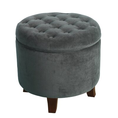 Klingensmith Storage Ottoman Color: Gunmental