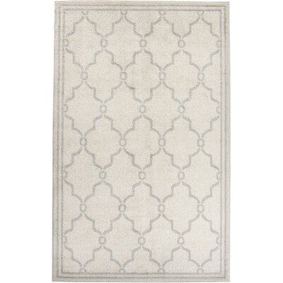 Peckham Ivory Indoor/Outdoor Area Rug Rug Size: 26 x 4