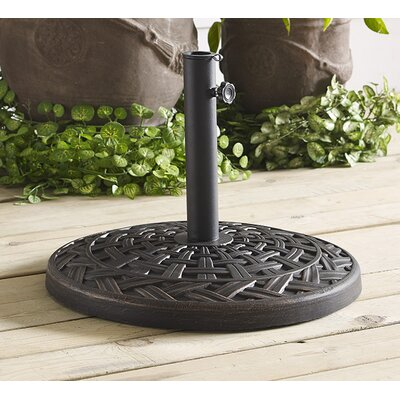 Bryant Resin Free-Standing Umbrella Base Finish: Antique Bronze