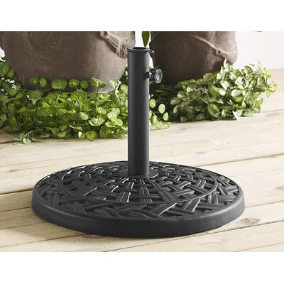 Bryant Resin Free-Standing Umbrella Base Finish: Black