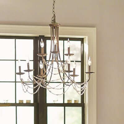 Atwood 9 Light Candle-Style Chandelier
