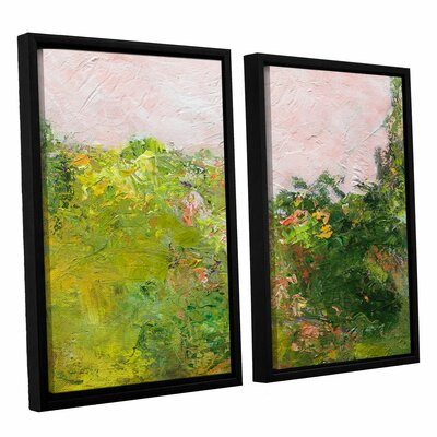 Swindon 2 Piece Framed Painting Print on Canvas Set