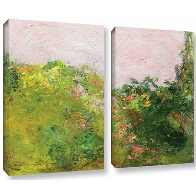 Swindon 2 Piece Painting Print on Wrapped Canvas Set