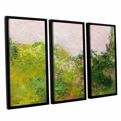 Swindon 3 Piece Framed Painting Print on Canvas Set