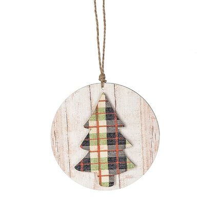 Plaid Tree Ornament