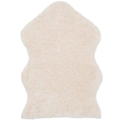 Herne Bay Hand-Tufted Ivory Area Rug Rug Size: 3 x 5