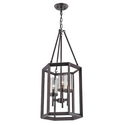 Burbage 3-Light Foyer Pendant