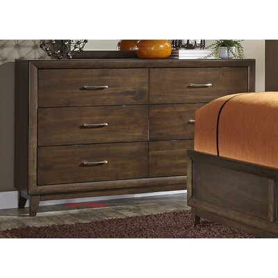 Bodenhamer 6 Drawer Dresser