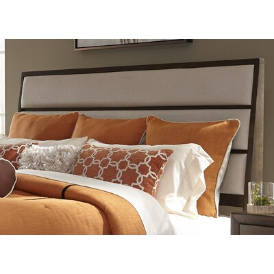 Bodenhamer Contemporary Upholstered Panel Headboard Size: Queen