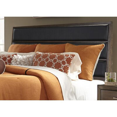 Bodenhamer Upholstered Panel Headboard and Footboard Size: King