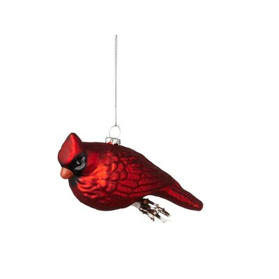 Cardinal on Twig Ornament