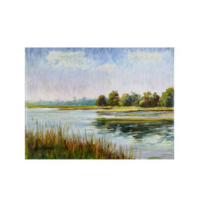 View in Bliss Gel Painting Print