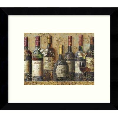 Wine I Framed Wall Art