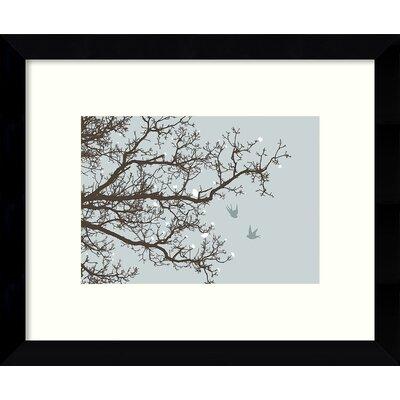 Winter Whimsy Tree Framed Graphic Art