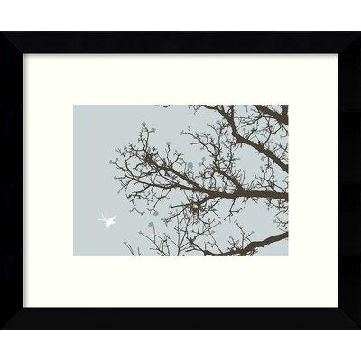 Whimsy Tree Framed Graphic Art