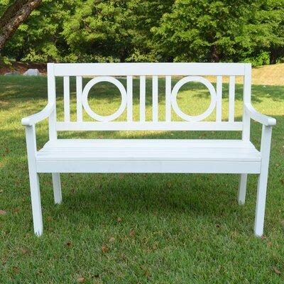 Bowersville Wood Bench Finish: White