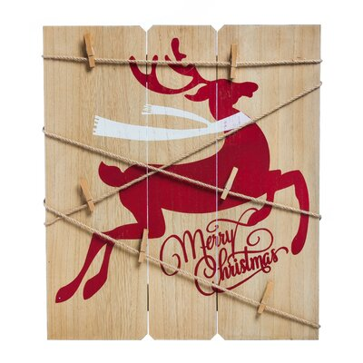 Deer Card Holder Wall Decor