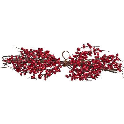 Three Posts Wild Berry Decorative Christmas Centerpiece