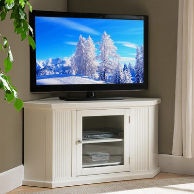 Benson Corner TV Stand Finish: White